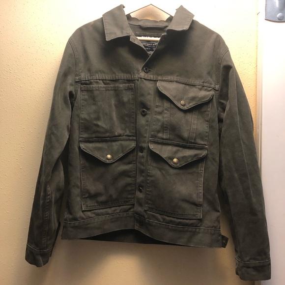 24ef3b88028bd Filson Jackets & Coats | Otter Green Cruiser Trucker Jacket M | Poshmark